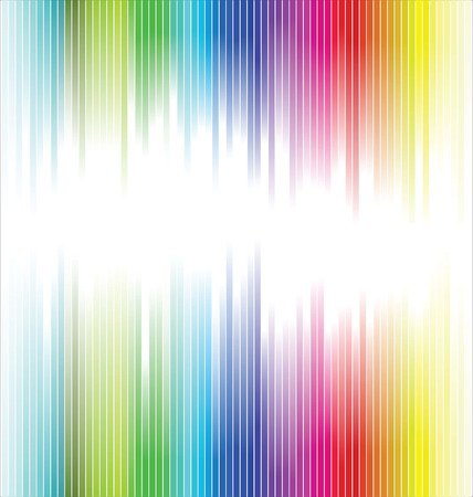 striped band: Abstract rainbow background