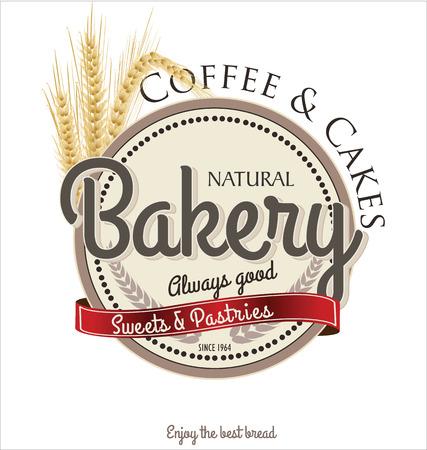 baked: Bakery retro banner