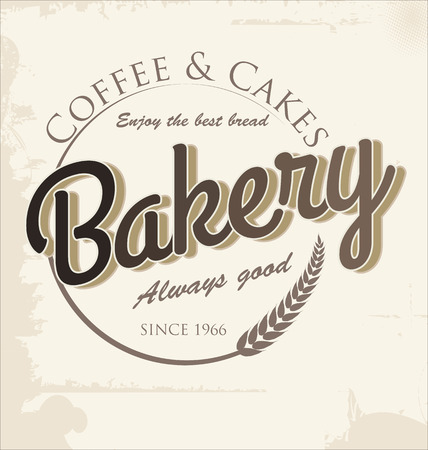 Bakery retro banner