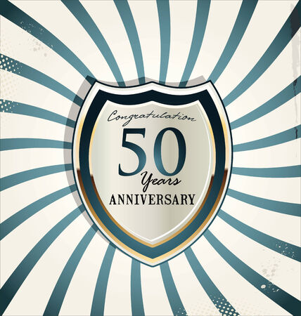 commemoration: Anniversary background Illustration
