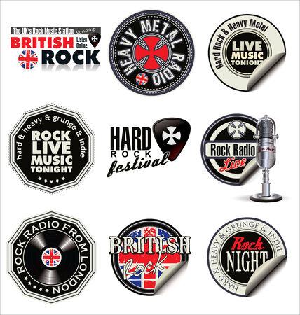 token: Rock music labels