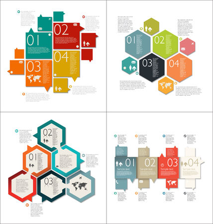population growth: Collection of Infographic Templates