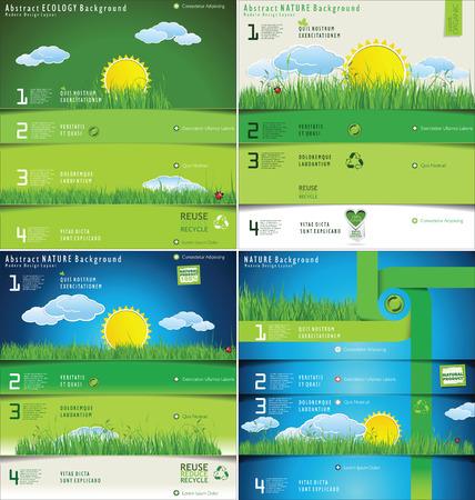 ciclo del agua: Modern ecología Diseño Layout