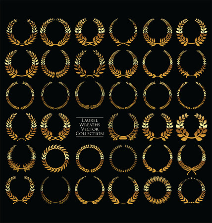 wreath collection: Laurel wreath collection