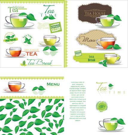 tea kettle: Tea background