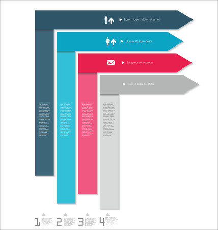 population growth: Modern design template
