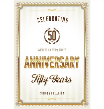 tenth birthday: Anniversary certificate template