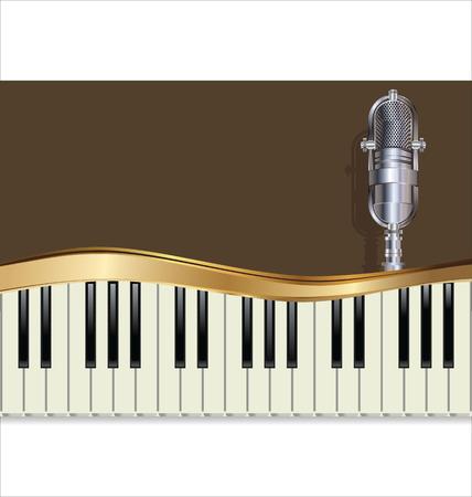 fanfare: Music jazz background