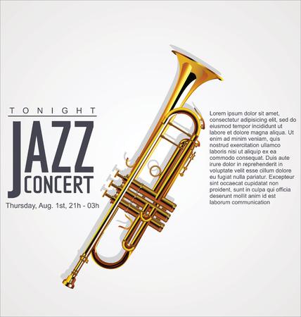 Music background - JAZZ concert Vector