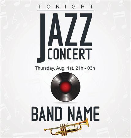 fanfare: Music background - JAZZ concert