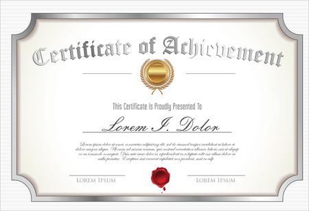 certificate template: Certificate template
