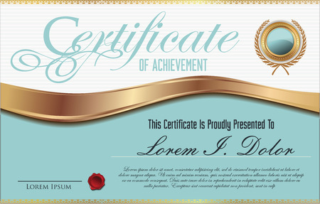 shares: Certificate template