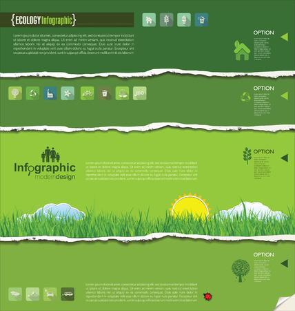educacion ambiental: Ecología diseño moderno
