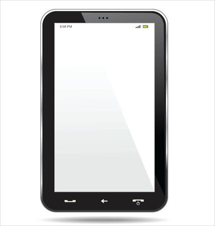 product reviews: tablet computer Illustration