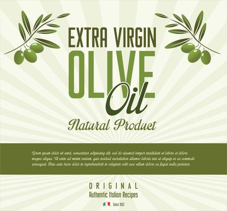 Olive retro background Vector