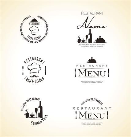 bares: Projeto do menu do restaurante