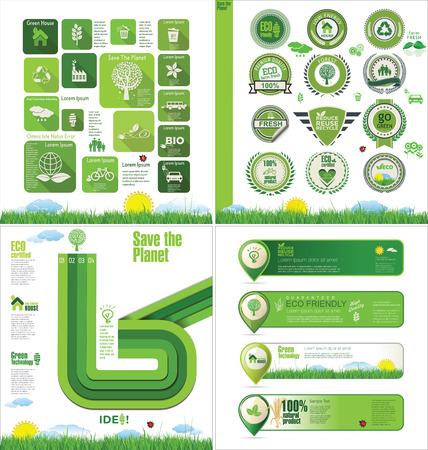 preservatives: Ecolog�a plantilla de dise�o