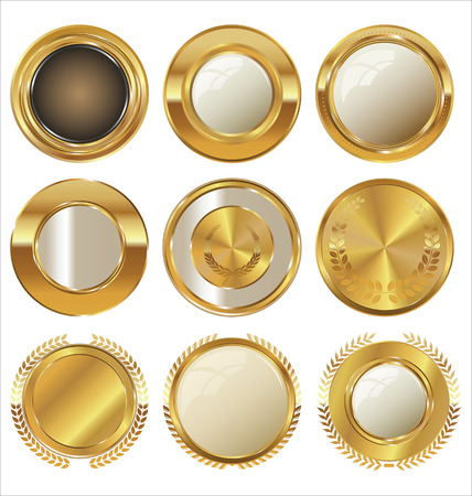gold circle: Golden labels collection