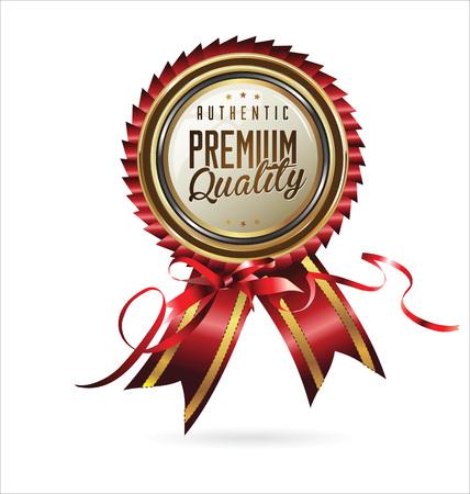 Premium Quality retro Label
