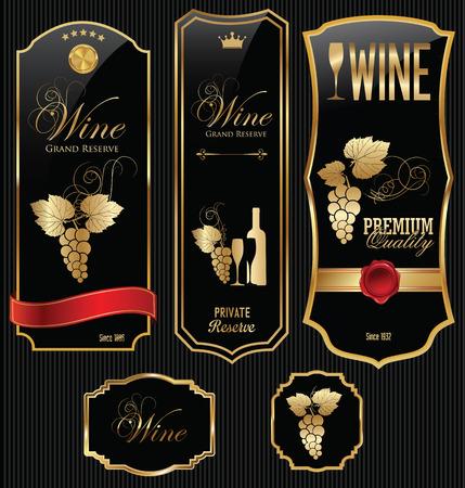 ワインのラベル