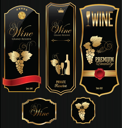 wine label: Wine labels