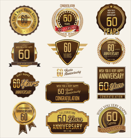 60 years: Anniversary golden label