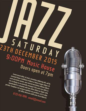 Jazz-Festival Plakat