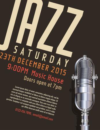 performer: Jazz festival poster