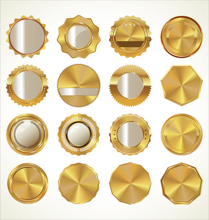 gold metal: Golden Labels collection