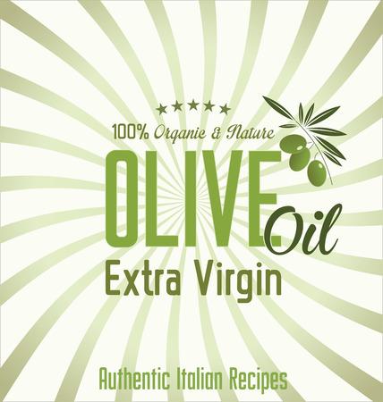 olive oil bottle: Olive oil retro background