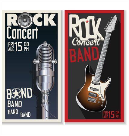 voices: Rock festival design template