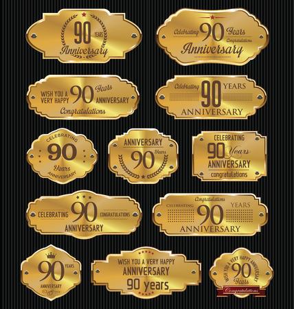90 years: Anniversario d'oro raccolta etichette, 90 anni
