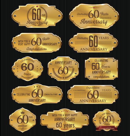 60 years: Anniversary golden labels collection, 60 years