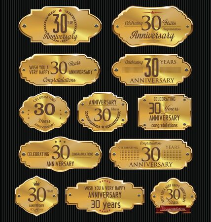 30: Anniversary golden labels collection, 30 years