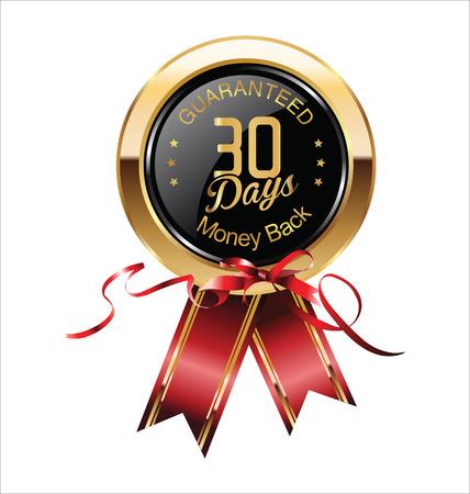 30: 30 Days Money Back Guaranteed Badge