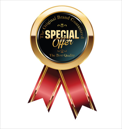 special offer badge Vector