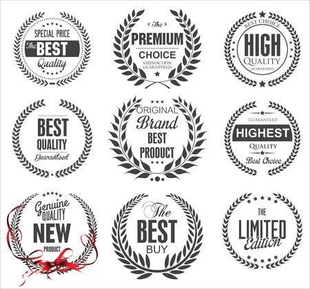 sellos: Colecci�n corona de laurel de primera calidad
