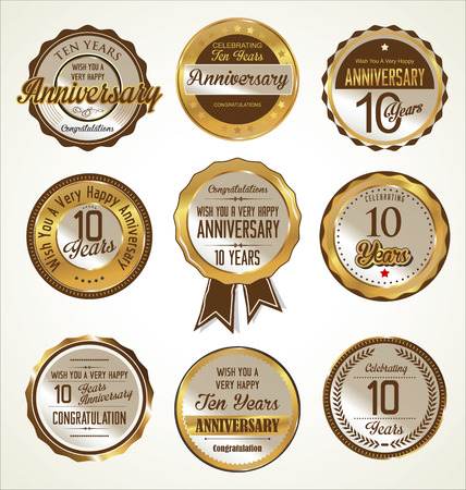 valuable: Anniversary labels collection, 10 years