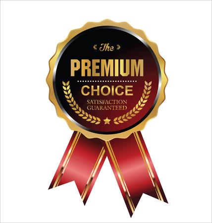 Premium choice label