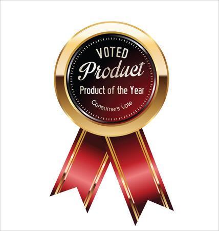 głosowało: Wziął etykiecie produktu Ilustracja