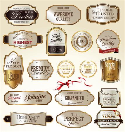 premium quality: Premium quality golden labels