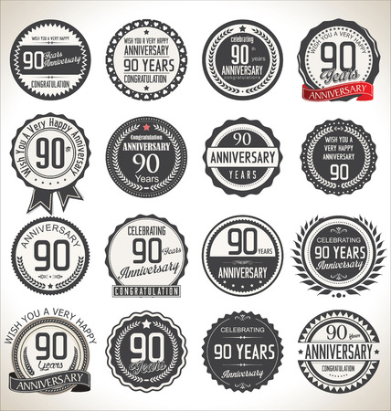 90: Anniversary label collection, 90 years