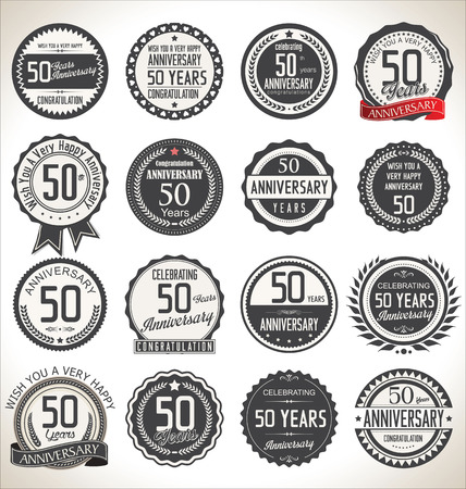 50 years jubilee: Anniversary label collection, 50 years
