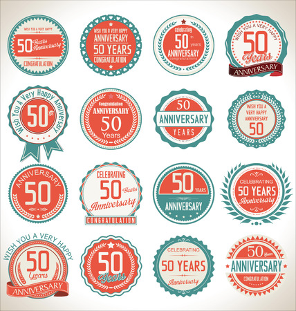50 years: Anniversary label collection, 50 years