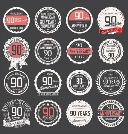 90 years: Anniversary label collection, 90 years