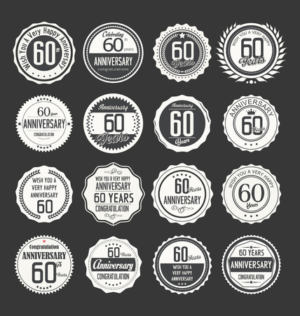 60 years: Anniversary label collection