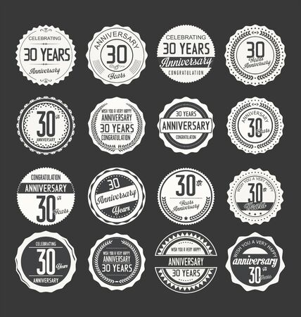 30th: Anniversary label collection
