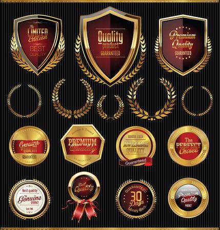 黄金の栄光を盾し、メダル コレクション