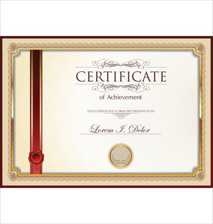 diploma template: Certificate or Diploma template