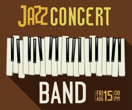 city live: Jazz music festival poster